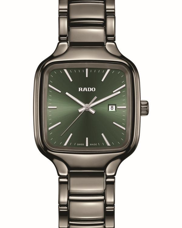 True Square Green Dial Rado