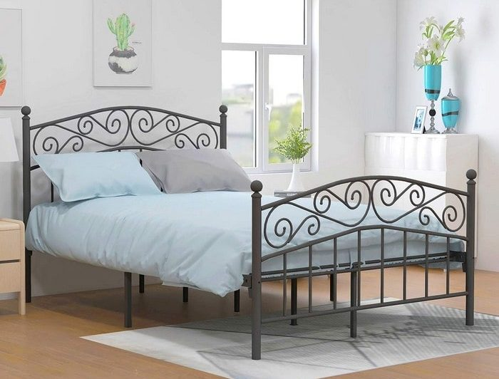 aufank-metal-bed-frame
