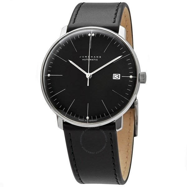 junghans-max-bill-automatic-black-dial-mens-watch