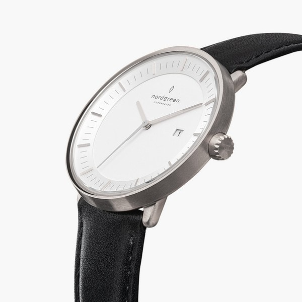 nordgreen-philosopher-scandinavian-silver-analog-watch