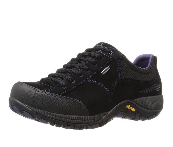 Dansko Women's Paisley Waterproof Outdoor Sneaker black