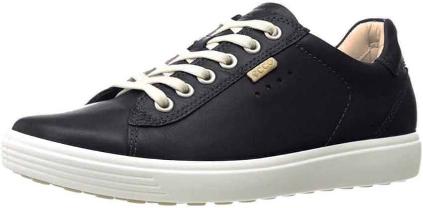 ECCO Women's Soft 7 Sneaker Shoes black