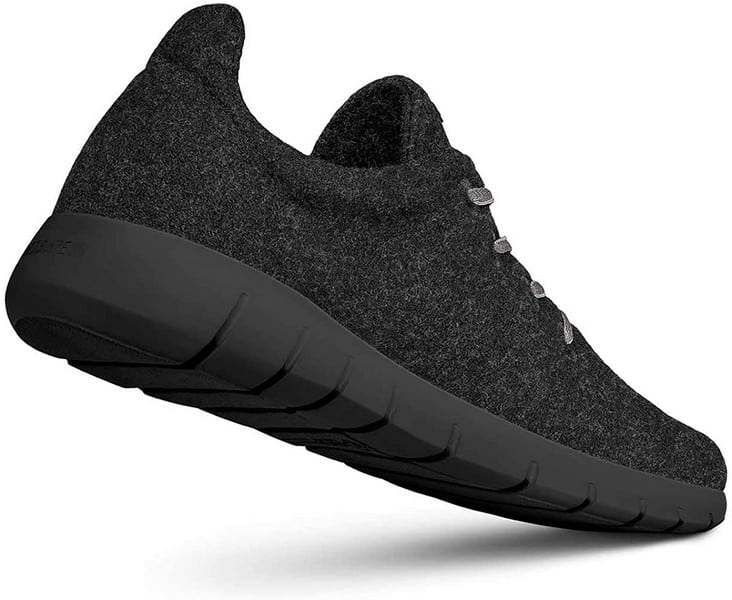 Giesswein Merino Runners Women Breathable Wool Sneakers black