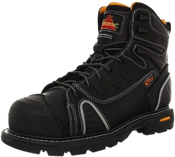 Thorogood Men's GEN-flex2 Series - 6 inch Cap Toe, Composite Safety Toe Boot