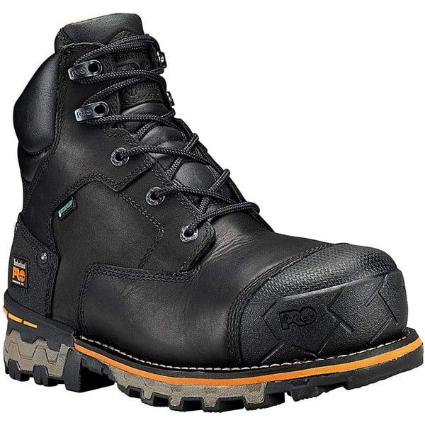 Timberland PRO Men's Boondock 6 inch Composite Toe Waterproof Industrial & Construction Shoe